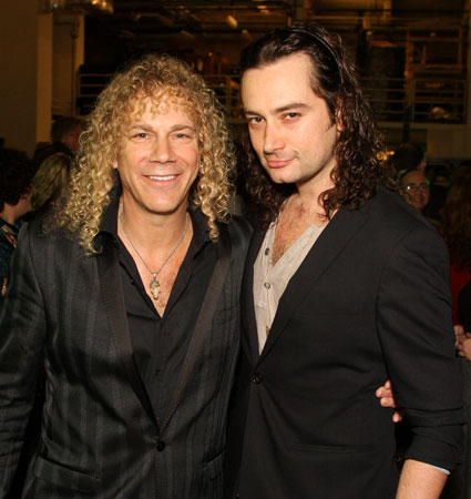 David Bryan and Constantine Maroulis