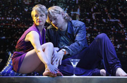 Angelica Page and Jeffrey Carlson