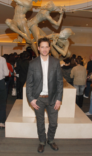 Peter Facinelli at the Bellagio