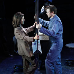 Jenn Harris and Brent Barrett