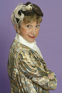 Barbara Minkus in Picon Pie(Photo &copy; Carol Rosegg)