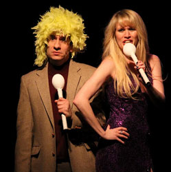 Seth Rudetsky and Lauren Kennedy