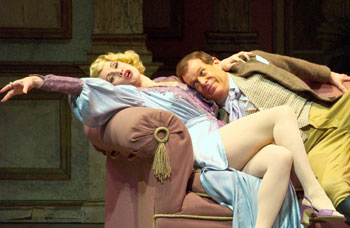 Tracy Lore and Wayne Bryan in Me and My Girl(Photo © Jerry Fritchman)
