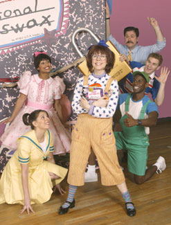The cast of Junie B. Jones(Photo © Carol Rosegg)