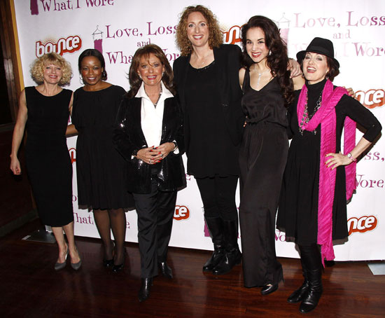 Karen Quackenbush, Quincy Tyler Bernstine, Dawn Wells, Judy Gold, Alexandra Silber, and Robin Strasser