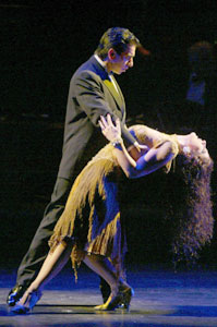 Jorge Torres and Marcela Duran inForever Tango