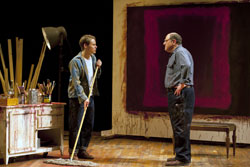 Randy Harrison and Bob Ari in Red