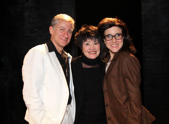 David Garrison, Chita Rivera, and Jenn Harris