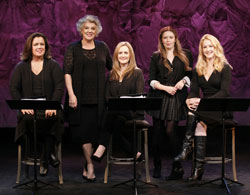 Original cast of Love, Loss, and What I Wore: