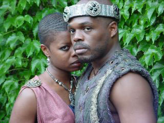 Roslyn Ruff and Ty Jones in Macbeth(Photo © Christopher McElroen)