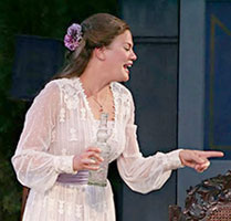 Kristen Johnston inMuch Ado About Nothing(Photo © Michal Daniel)