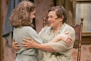 Hallie Foote and Estelle Parsons in The Day Emily Married(Photo © Jonathan Barkey)