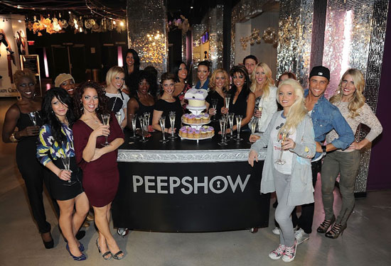 The cast of Peepshow