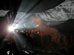 A scene from War Horse