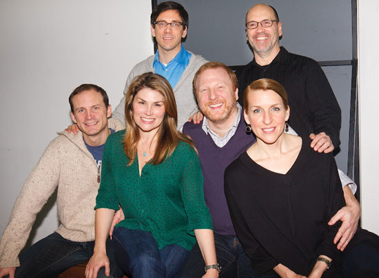 (back: l-r) Michael Berresse and Larry Pressgrove
