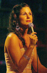 Stephanie J. Block at Birdland(Photo © Joseph Marzullo)