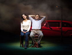 Elizabeth Reaser and Norbert Leo Butz