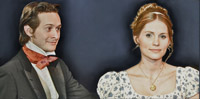production art for Jane Austen Unscripted (courtesy of Impro Theatre)