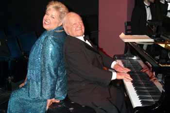 Jan and Mickey Rooney in Let's Put On A Show!(Photo © Judie Burstein/Globe Photos)
