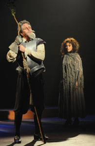 Davis Gaines and Lesli Margherita