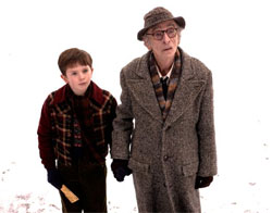 Freddie Highmore and David Kelly