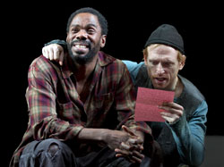 Colman Domingo and Scott Shepherd