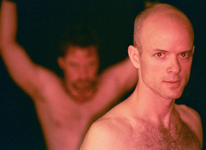 Ian Pfister (front) and Zack Calhoon (back)