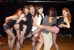 The cast of Burlesque Exposes Bush