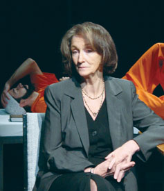 Kathleen Chalfant and Waleed Zuaiter in Guantánamo(Photo © Brian Michael Thomas)