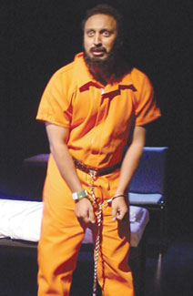 Aasif H. Mandvi in Guantánamo(Photo © Brian Michael Thomas)