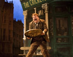 James Corden in One Man, Two Guvnors (© Johan Persson)