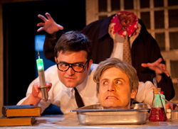 A scene from Re-Animator The Musical
