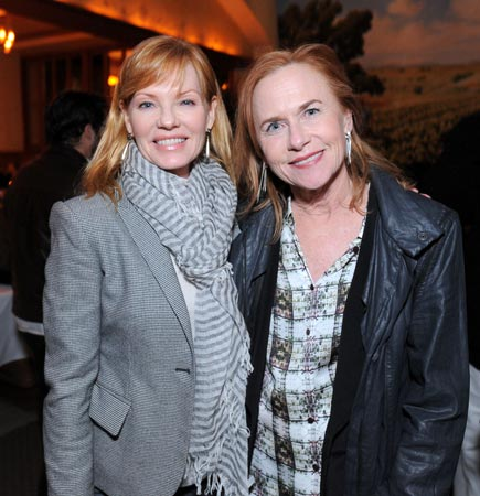 Marg Helgenberger and Amy Madigan