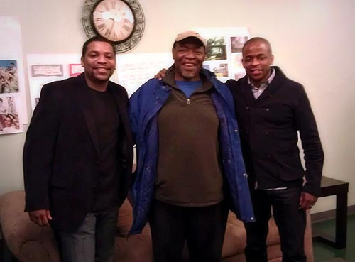 Mekhi Phifer, Chuck Cooper,and  Dulé Hill