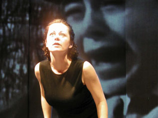 Geraldine Hughes in Belfast Blues(Photo © Jane Harper)
