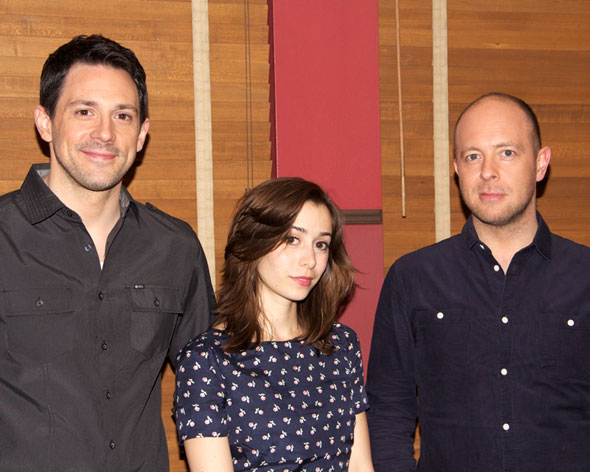 John Tiffany, Cristin Milioti, and Steve Kazee