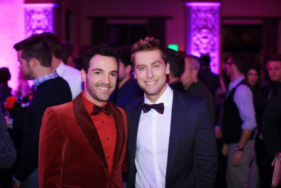 George Kotsiopoulos and Lance Bass