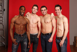 Anthony Wayne, Corey Mach, Andrew Chappelle and Jesse Swimm