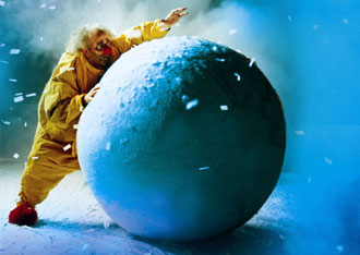 Slava Polunin in Slava's Snowshow(Photo © Veronique Vial)