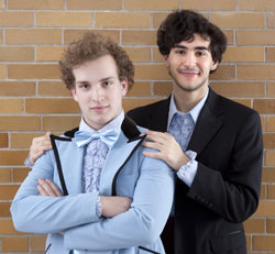 Ian Shain and Felix Teich star in
