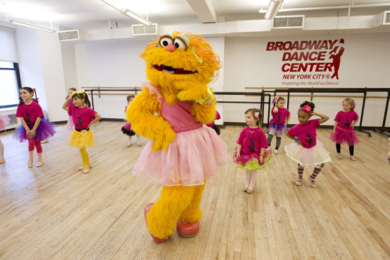 Zoe takes a dance class at Broadway Dance Center with a group of young dancers from Long Island. 