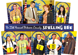 Cast of The 25th Annual Putnam County Spelling Bee