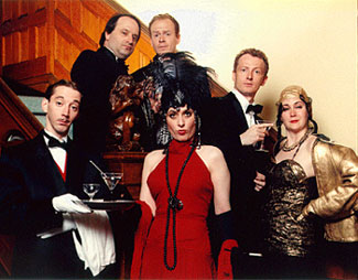 The cast of the 1999 Toronto Fringe Festivalproduction of The Drowsy Chaperone