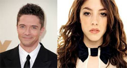 Topher Grace and Olivia Thirlby