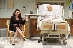 Linda Lavin and Dick Latessa in The Lyons