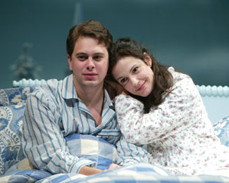 Thomas Sadoski and Mary-Louise Parker in Reckless(Photo © Joan Marcus)