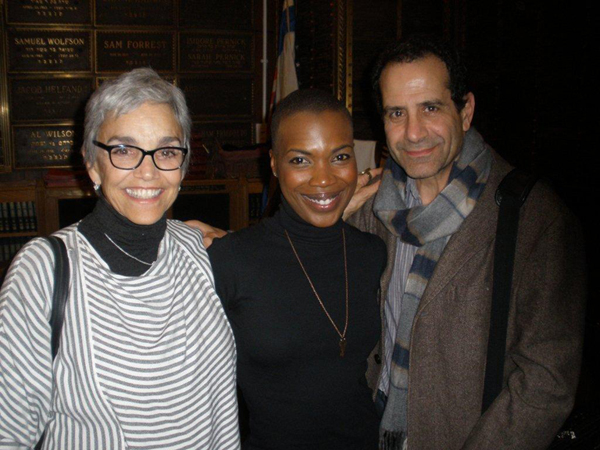 Brooke Adams, Kenyetta Lethridge and Tony Shalhoub