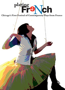 Poster for the Playing French Festival