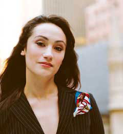 Eden Espinosa(Photo © Peter Berberian)
