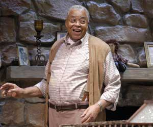 James Earl Jones in On Golden Pond